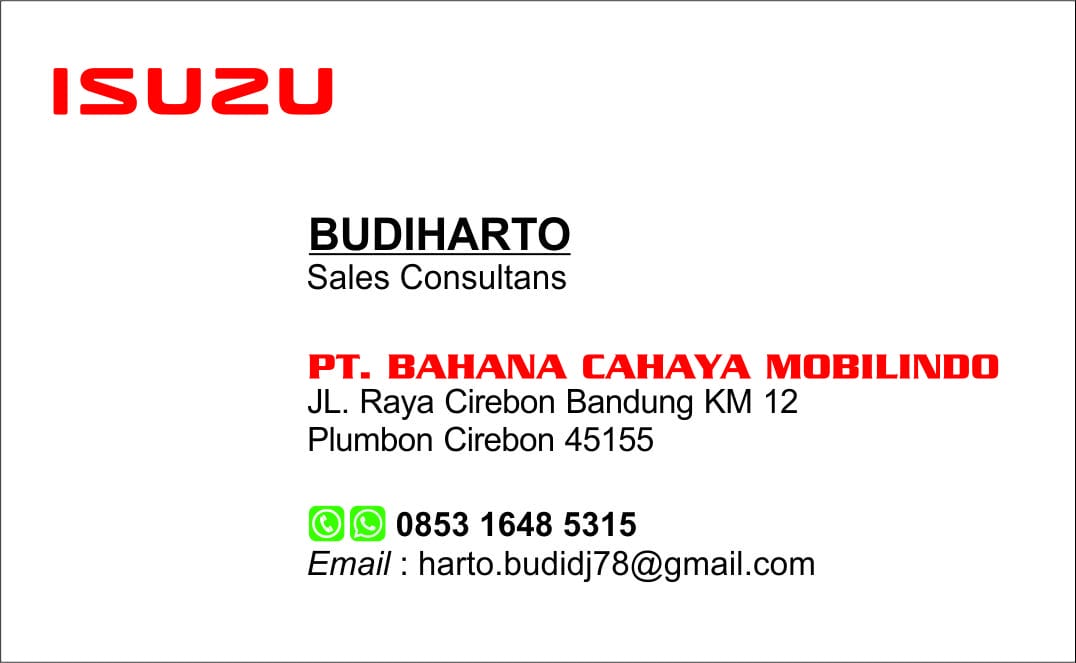 Dealer Isuzu Cirebon