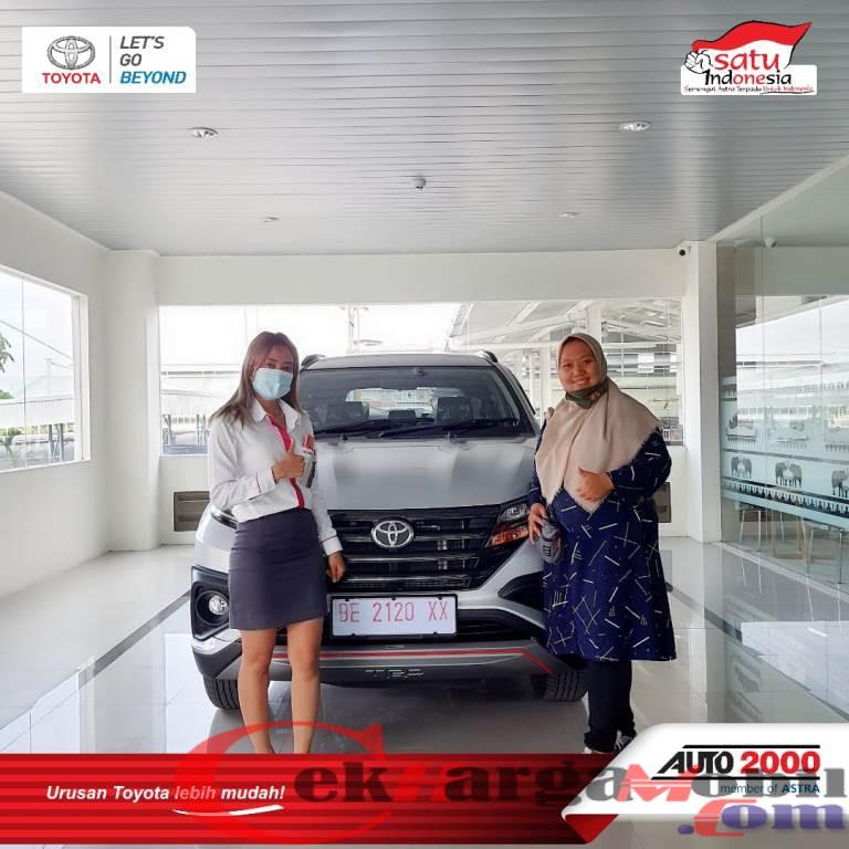 Penyerahan Unit Toyota Bandar Lampung