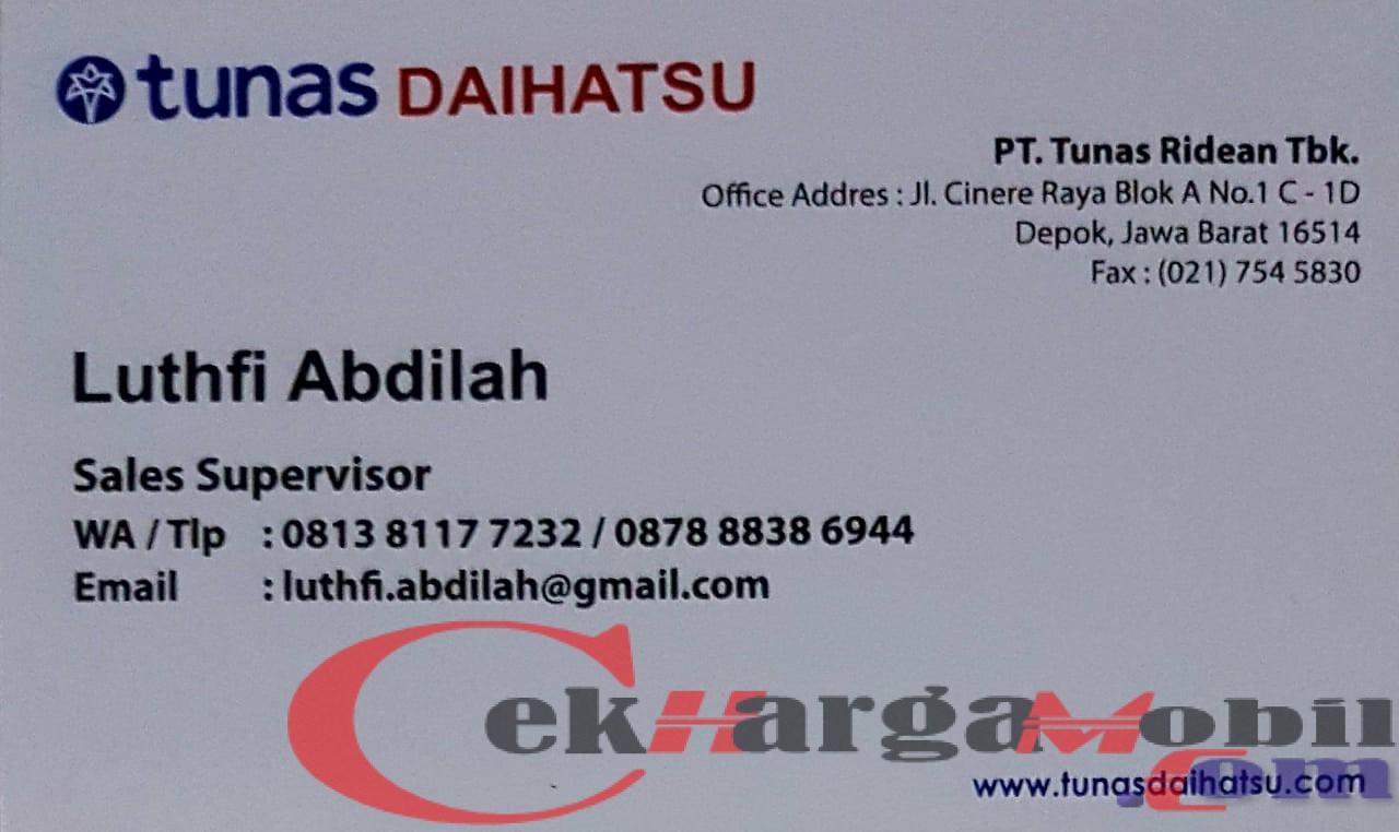 Dealer Daihatsu Depok