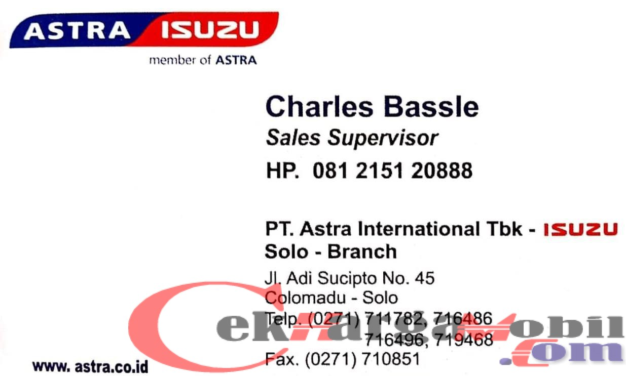 Read more about the article Dealer Isuzu Solo