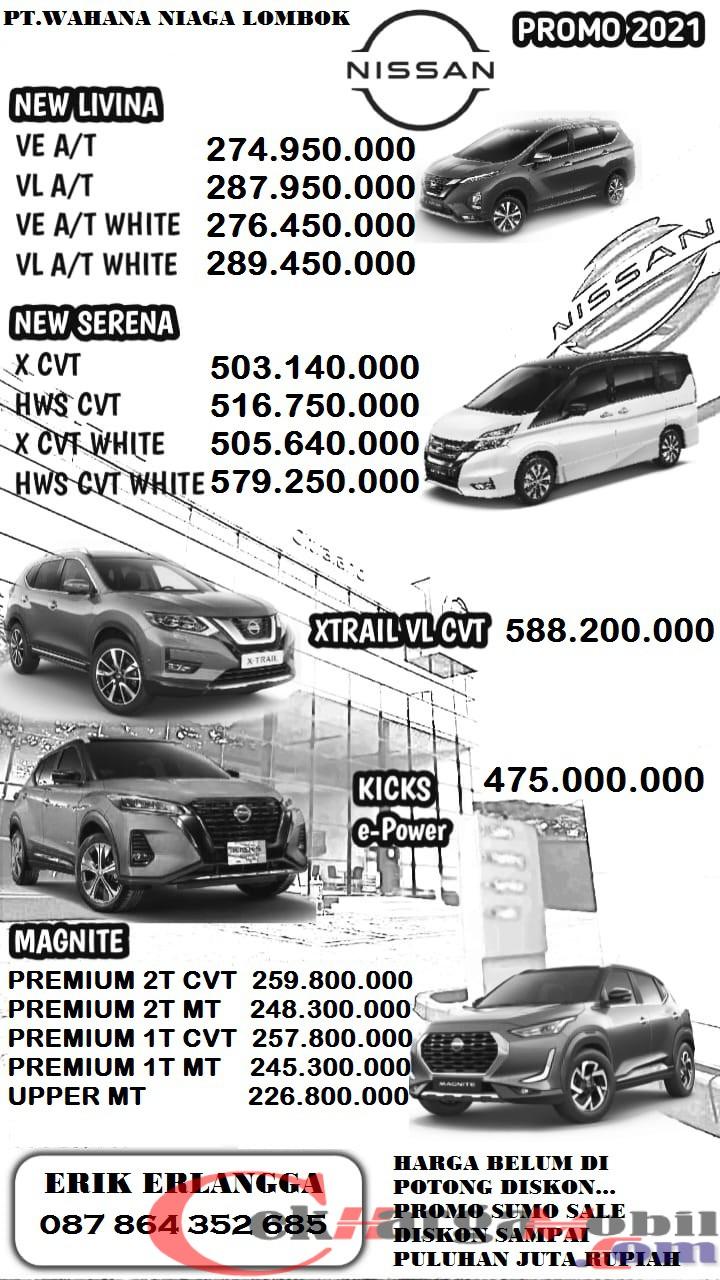 Harga Dealer Nissan Lombok